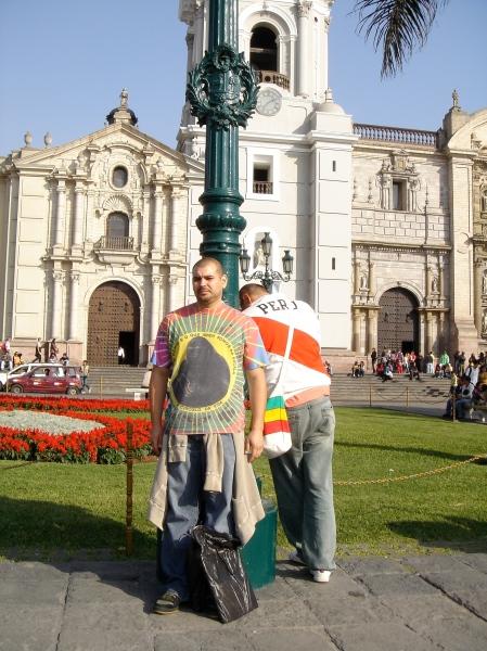 Plaza de armas Lima. R & R after diggin' n Quilca