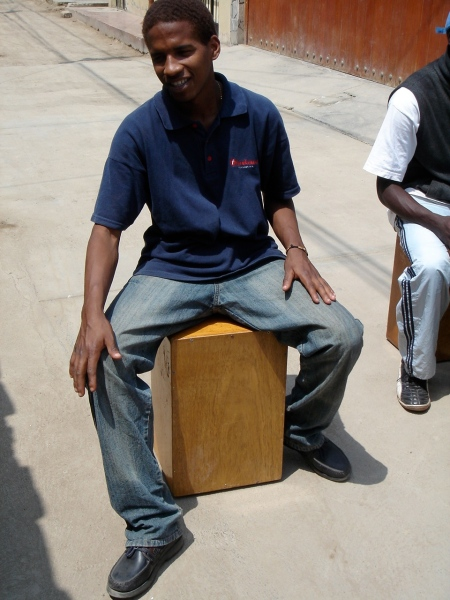 Jimmy w the cajon