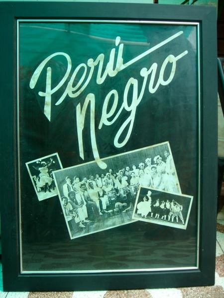 vintage PERU NEGRO