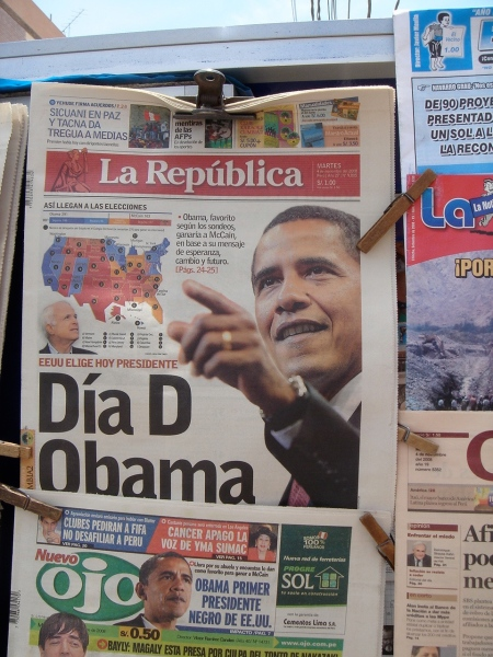 Obama in Chincha's News