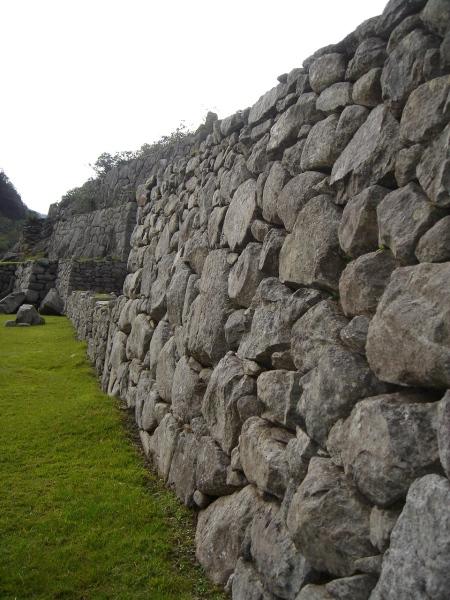 pared de piedras