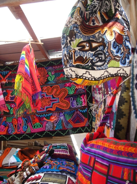 textiles artesanales incaicos