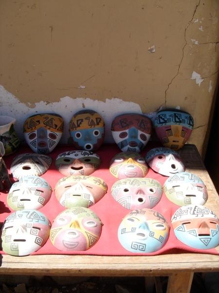 mascaras de barro