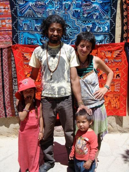 familia Argentina en Cuzco