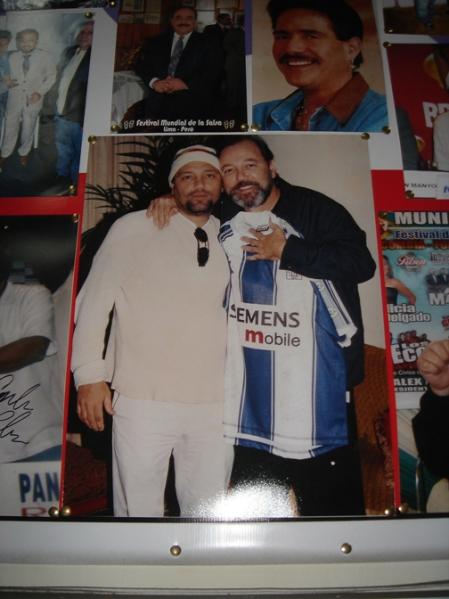 Ruben y Roberto Blades en Peru