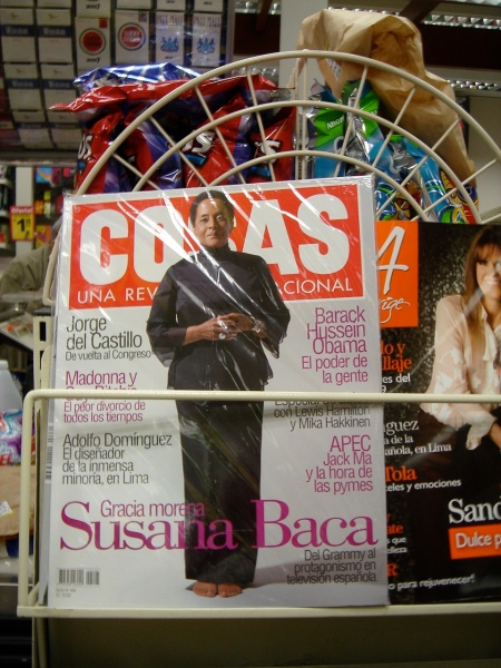Susana Baca cover story in Lima