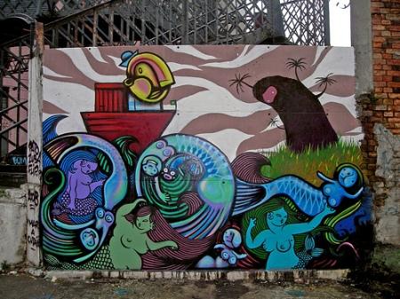 arte em ruas urbanas by FLIP