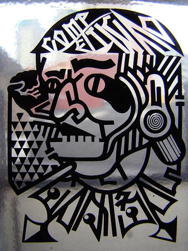 clear sticker by NUNCA