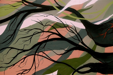 camo and branches by FLIP