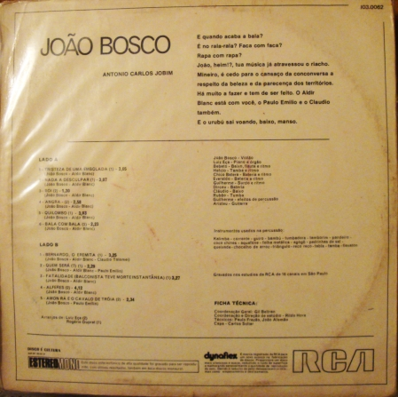 BOSCO Bck sleeve info
