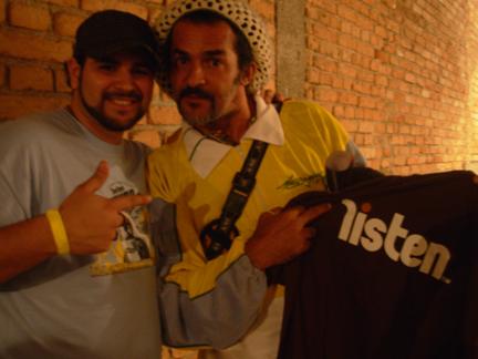 Nelsao Triunfo, Brazil Zulu Nation, Black Rio Movement