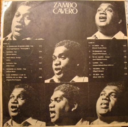 Afro Peruvian ZAMBO CAVERO