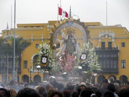 procesion del la virgen
