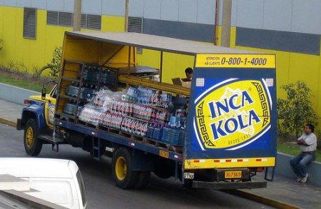 Inka Kola, el sabor del Peru.