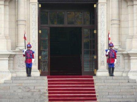 entrade del Palacio de govierno