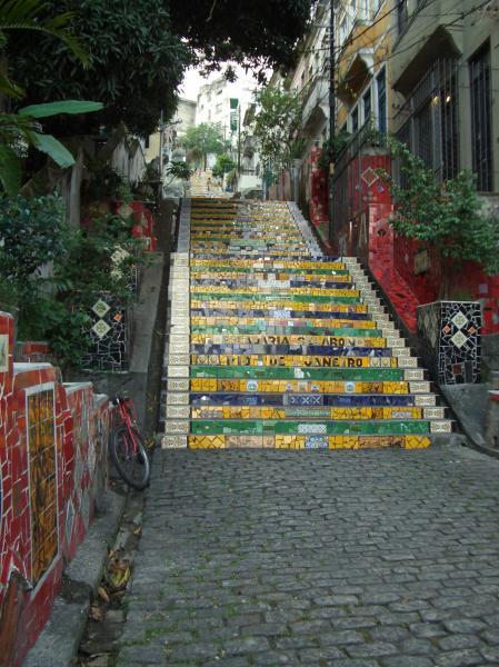 Lapa stairs by Selaron