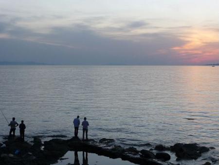 Fishing in Mykonos