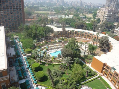 Marriot Hotel - AKA our Compound