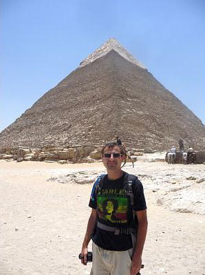 Pyramid 2 - notice the Limestone Top Still intact