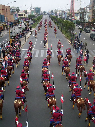 parade St of Lima