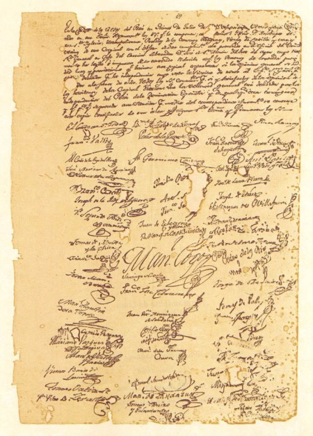 Acta de Independencia (V)