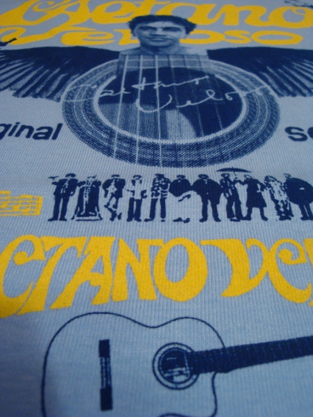 Caetano Veloso Tour shirt by LISTEN RECOVERY 08
