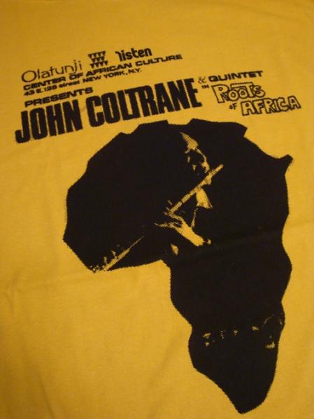 Coltrane Africa (rare poster archive)