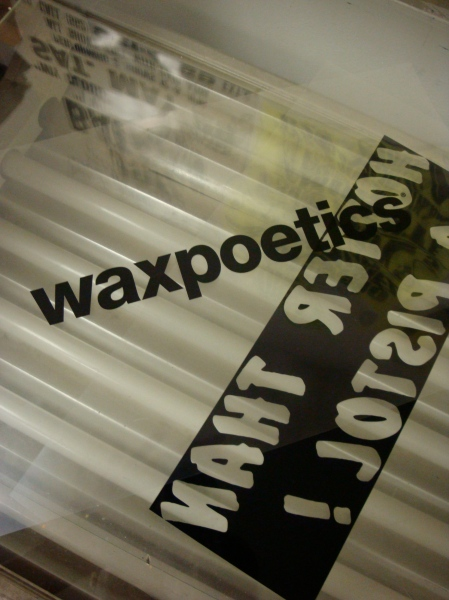 film positive Wax Poetics
