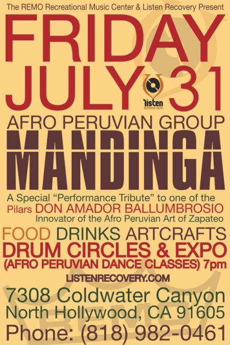 Mandinga At REMO PERCSS CNT. w Rich Spirit