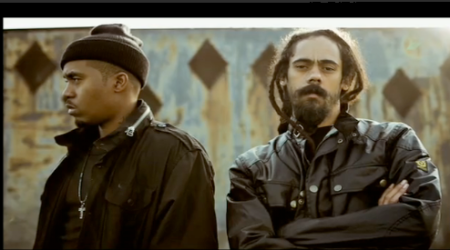 distant relatives Nas & Damian Marley