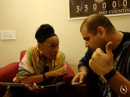 talking about Chabuca Granda's Tribute by Eva Ayllon that happen the week before