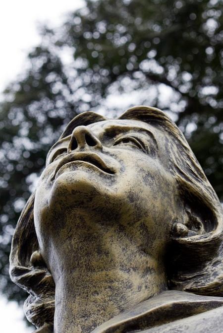 Chabuca's Statue in Lima, Peru