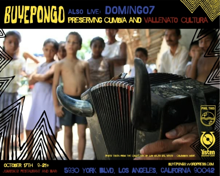 Juanita's BUYEPONGO oct 17th