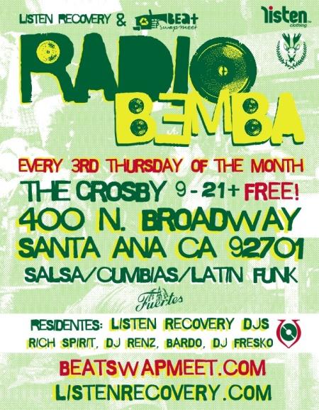 RADIO BEMBA front flier