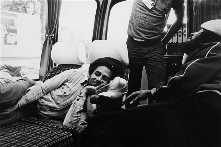 BOB MARLEY interview on his last tour 1980 by Fred Schruers (HighTimes mag.); all photos by KATE SIMON